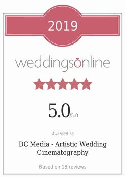 DC Media - Irish Wedding Films Certificate